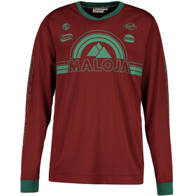 Maloja StronM. Bike Jersey Longsleeve Men red